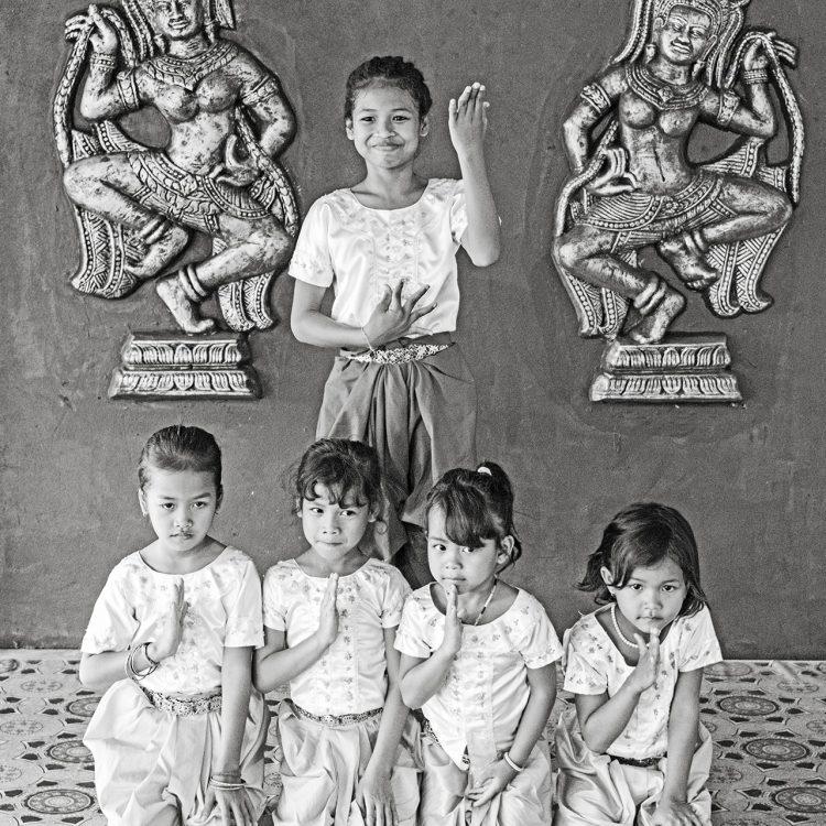 Apsara Tänzerinnen Kambodscha