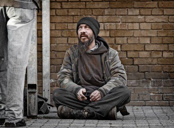 Erik - ein Obdachloser vor unserer Haustür