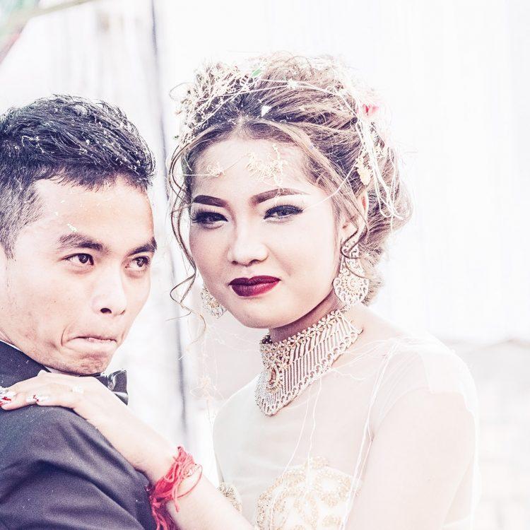 Eine Hochzeit in Kambodscha