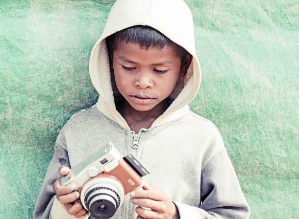 Kambodscha Polaroid