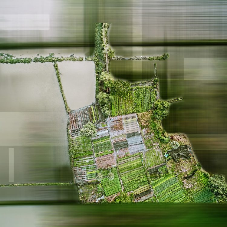 Abstrakt Luftbildfotografie